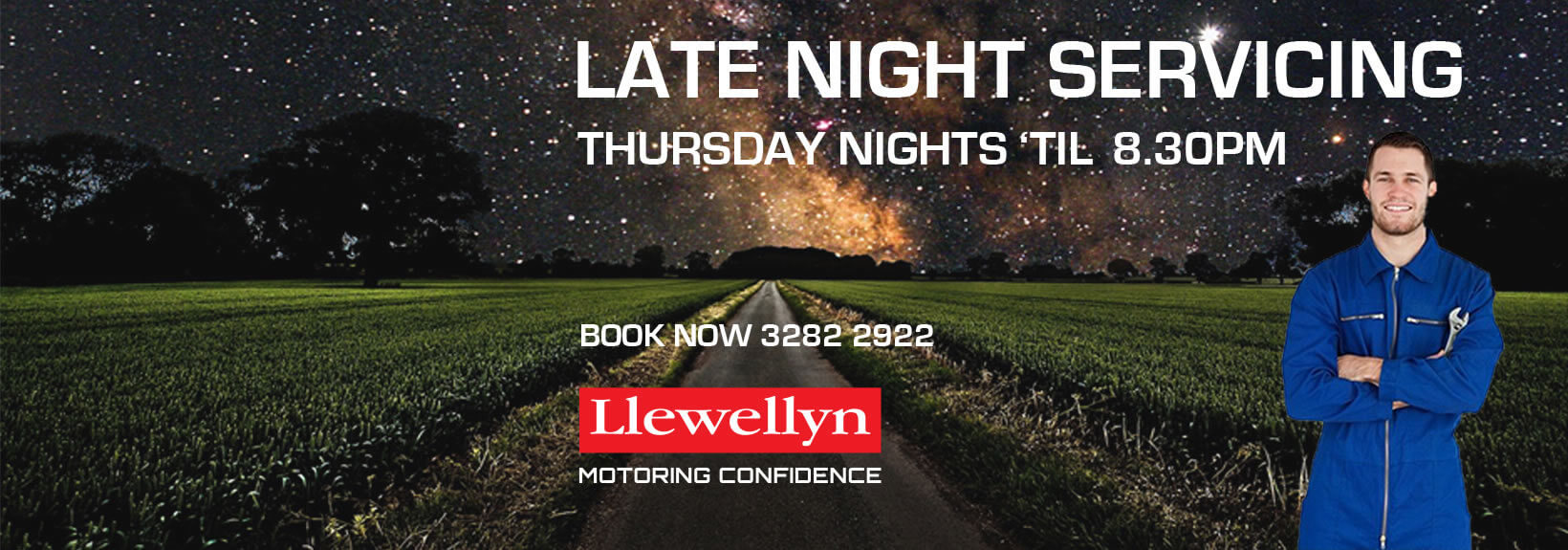 Llewellyn Subaru Night Service